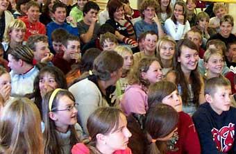 Na společné školní akci - archivní fotografie