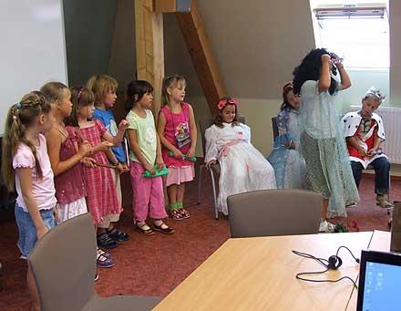 Vystoupily děti pod vedením p. uč. Regíny Hajné