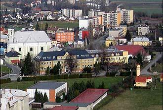 Nově opravený areál ZŠ Město Albrechtice