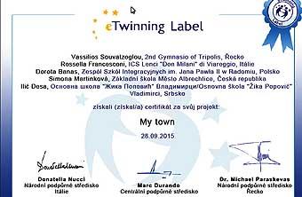 Certifikát...
