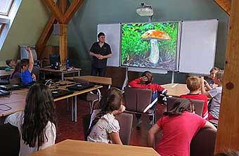 Prezentace o houbách se líbila...