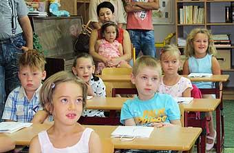 Prvňáčci se do školy těšili...