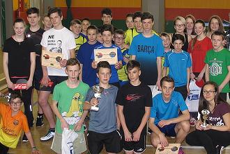 Družstva stolních tenistů...