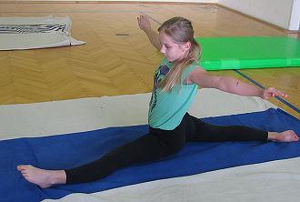 Gymnastika nás baví...