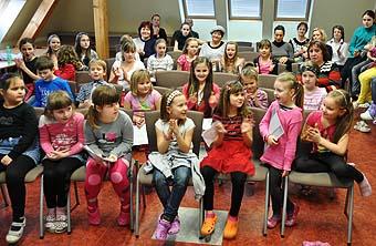 K recitaci patří trocha trémy i hodně radosti...
