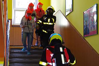 Cvičná evakuace...
