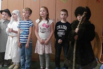 Vystoupení dětí z 2. B...