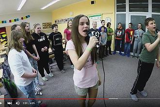 Šesťáci zpívat umí...