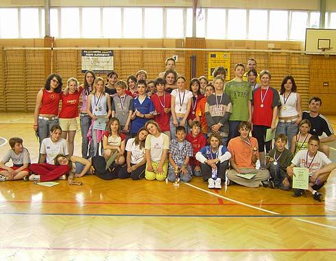 Účastníci závěrečného kola 6. ročníku ŠVP