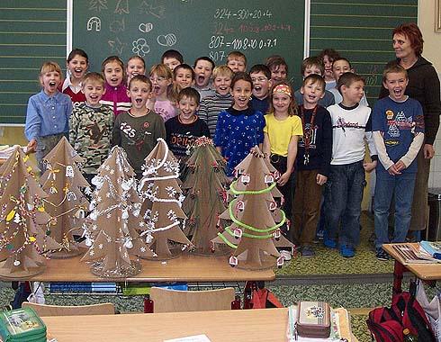 Stromečky do soutěže od žáků ze třídy 3. A