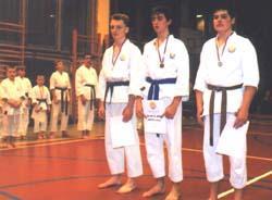 Vítězové karate