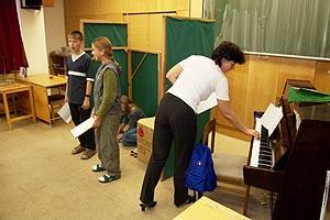 učíme se zpívat