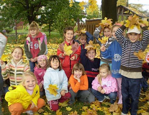 Veselý podzim ve školní družině...