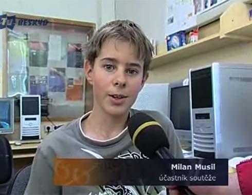Milan v reportáži Tv Beskyd ...