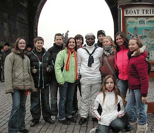 Vltavská plavební společnost nás vítá ...