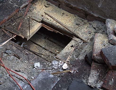 Sonda do stávající podlahy na půdě ...