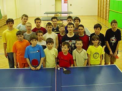 Účastníci turnaje...