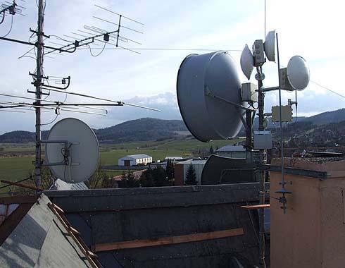 Staré televizní antény budou odstraněny ...