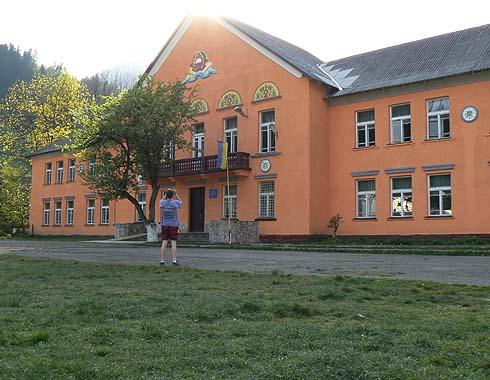 Škola v Usť Čorne ...
