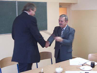 Výměna partnerských smluv